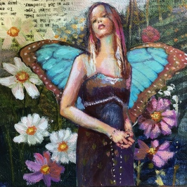 Blue Butterfly Fairy