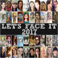 I am a guest teacher in Let's Face It 2017